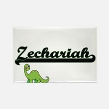 Zechariah Classic Name Design with Dinosau Magnets