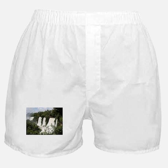 Iguazu Falls, Argentina, South Americ Boxer Shorts