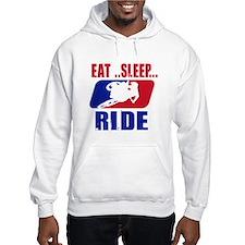 Eat sleep ride 2013 Hoodie