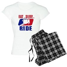 Eat sleep ride 2013 Pajamas