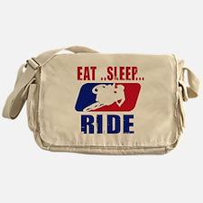 Eat sleep ride 2013 Messenger Bag
