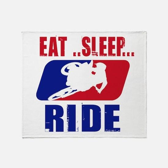 Eat sleep ride 2013 Throw Blanket