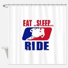 Eat sleep ride 2013 Shower Curtain