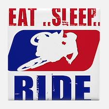 Eat sleep ride 2013 Tile Coaster