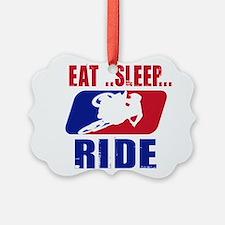 Eat sleep ride 2013 Ornament