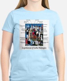 Lake Michigan Women's Light T-Shirt