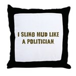 Mud Slinger Off road gifts Throw Pillow