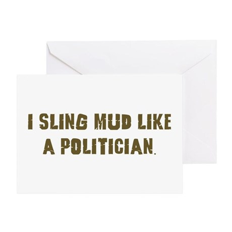Mud Slinger Off road gifts Greeting Card