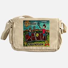 Go Tennis Messenger Bag