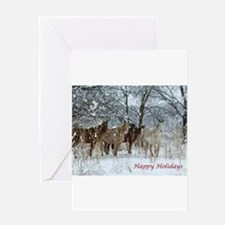 Unique Horse christmas Greeting Card