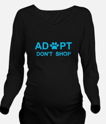 Unique Puppy mill Long Sleeve Maternity T-Shirt