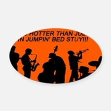 Funny Kendall Oval Car Magnet