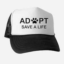 Cute Adopt Trucker Hat
