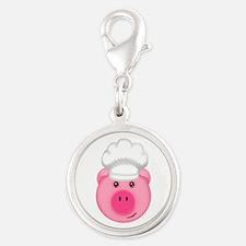 Chef Pig BBQ Farm Cook Charms