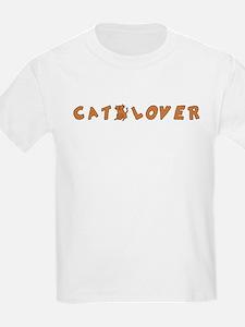 Orange Cat Lover T-Shirt
