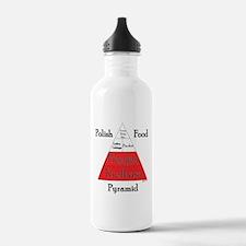 Polish Food Pyramid Water Bottle