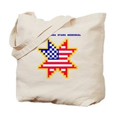 Americana Flag Star Tote Bag