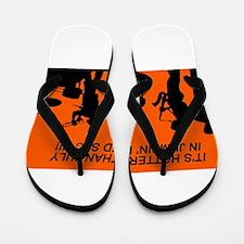 Cool Brooklyn new york Flip Flops