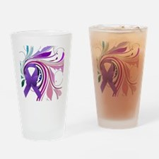Colorful Butterfly  Art Drinking Glass