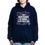 Math teacher Hooded Sweatshirt