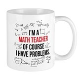 Math teacher Standard Mugs (11 Oz)