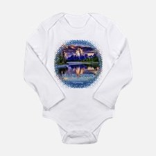 Grand Teton National P Long Sleeve Infant Bodysuit