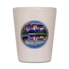 Grand Teton National Park Shot Glass