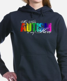 Unique Autism aunt Women's Hooded Sweatshirt