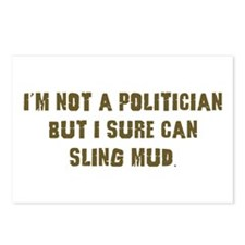 Mud Slinger Off road gifts Postcards (Package of 8