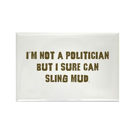 Mud Slinger Off road gifts Rectangle Magnet (10 pa