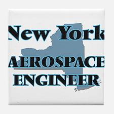 New York Aerospace Engineer Tile Coaster