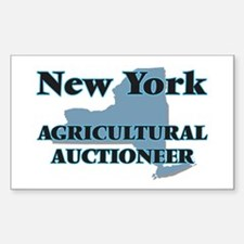 New York Agricultural Auctioneer Decal