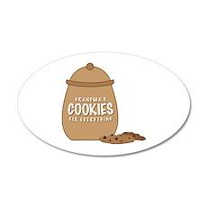 Grandmas Cookies Wall Decal