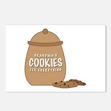 Grandmas Cookies Postcards (Package of 8)