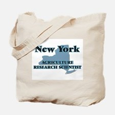 New York Agriculture Research Scientist Tote Bag