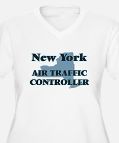 New York Air Traffic Controller Plus Size T-Shirt