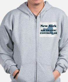 New York Air Traffic Controller Zip Hoodie