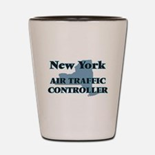 New York Air Traffic Controller Shot Glass