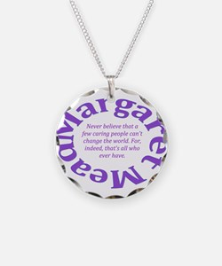 Sociology Margaret Mead Quote Necklace