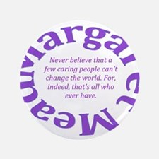 Sociology Margaret Mead Quote Button