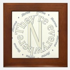 Sociology: Norms Are Everywhere Framed Tile