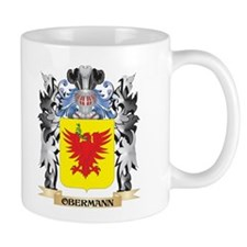 Obermann Coat of Arms - Family Crest Mugs