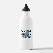 New York Antique Deale Water Bottle
