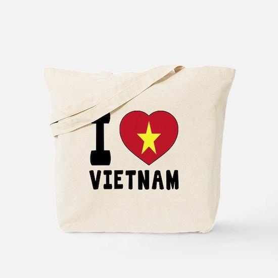 I Love Vietnam Tote Bag