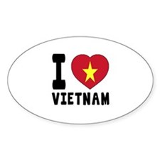 I Love Vietnam Decal