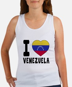 I Love Venezuela Women's Tank Top