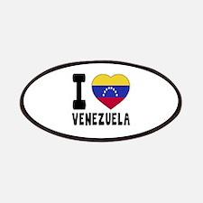 I Love Venezuela Patch
