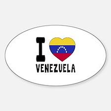 I Love Venezuela Decal