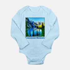Canadian Rockies Long Sleeve Infant Bodysuit