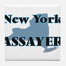 New York Assayer Tile Coaster